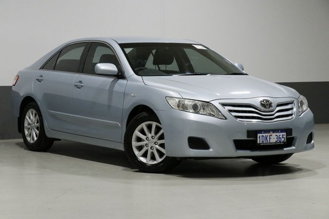 Used Toyota Camry ACV40R 09 Upgrade Altise, 2010 Toyota Camry ACV40R 09 Upgrade Altise Blue 5 Speed Automatic Sedan