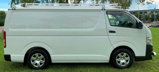 2013 Toyota HiAce TRH201R MY12 LWB White 4 Speed Automatic Van.