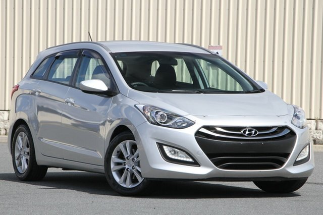 Used Hyundai i30 GD Active Tourer, 2014 Hyundai i30 GD Active Tourer Silver 6 Speed Sports Automatic Wagon