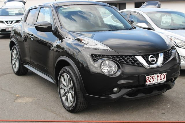 Used Nissan Juke F15 Series 2 ST X-tronic 2WD, 2016 Nissan Juke F15 Series 2 ST X-tronic 2WD Black 1 Speed Constant Variable Hatchback