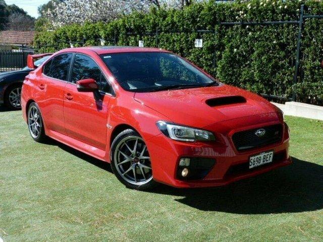Used Subaru WRX V1 MY15 STI AWD Premium, 2014 Subaru WRX V1 MY15 STI AWD Premium Red 6 Speed Manual Sedan