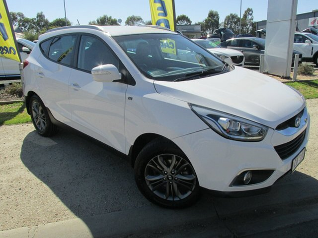 Used Hyundai ix35 LM3 MY14 SE, 2013 Hyundai ix35 LM3 MY14 SE White 6 Speed Sports Automatic Wagon