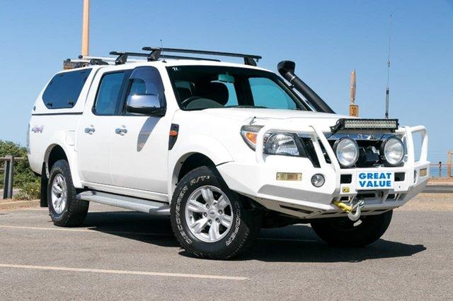 Used Ford Ranger PK XLT, 2010 Ford Ranger PK XLT White 5 Speed Automatic Utility
