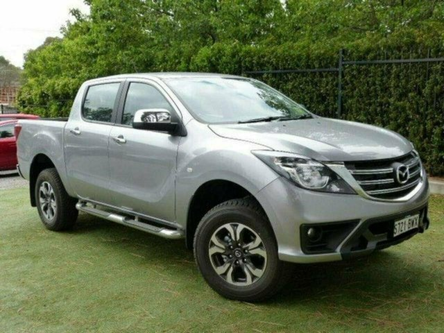 Demo Mazda BT-50 UR0YG1 XTR, 2018 Mazda BT-50 UR0YG1 XTR Aluminium 6 Speed Sports Automatic Utility
