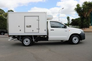 2014 Toyota Hilux TGN16R MY14 Workmate 4x2 Glacier 4 Speed Automatic Cab Chassis