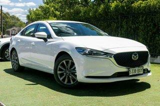 2018 Mazda 6 GL1032 Sport SKYACTIV-Drive White Pearl 6 Speed Sports Automatic Sedan.