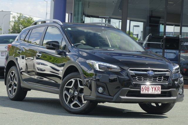 Demo Subaru XV G5X MY18 2.0i-S Lineartronic AWD, 2018 Subaru XV G5X MY18 2.0i-S Lineartronic AWD Crystal Black 7 Speed Constant Variable Wagon
