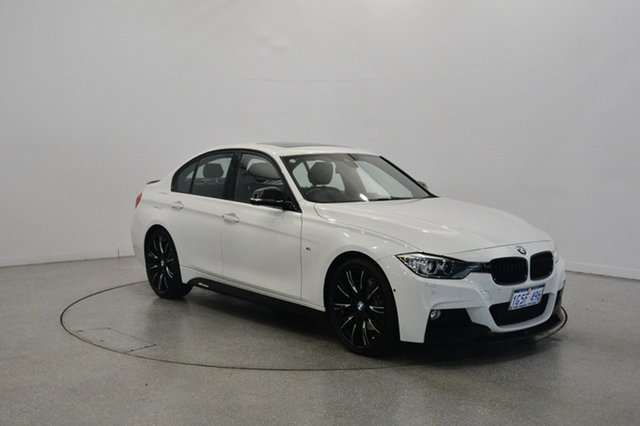 Used BMW 328i F30 MY1114 M Sport, 2015 BMW 328i F30 MY1114 M Sport White 8 Speed Sports Automatic Sedan