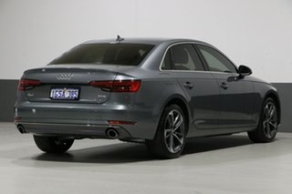2017 Audi A4 F4 MY17 (B9) 2.0 TFSI S Tronic Sport Monsoon Grey 7 Speed Auto Dual Clutch Sedan