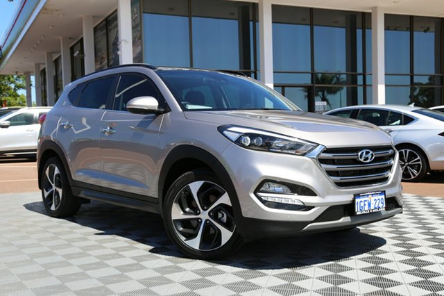 Used Hyundai Tucson TLe MY17 Highlander D-CT AWD, 2016 Hyundai Tucson TLe MY17 Highlander D-CT AWD Champagne 7 Speed Sports Automatic Dual Clutch