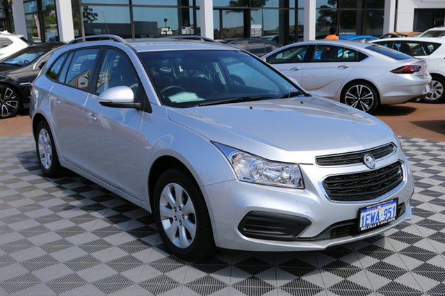 Used Holden Cruze JH Series II MY16 CD Sportwagon, 2015 Holden Cruze JH Series II MY16 CD Sportwagon Nitrate 6 Speed Sports Automatic Wagon
