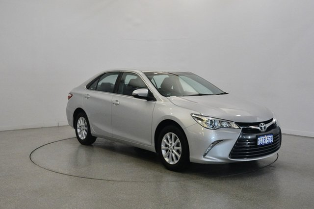 Used Toyota Camry ASV50R Altise, 2017 Toyota Camry ASV50R Altise Silver 6 Speed Sports Automatic Sedan