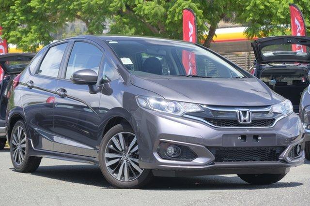 Demo Honda Jazz GF MY19 VTi-S, 2018 Honda Jazz GF MY19 VTi-S Modern Steel 1 Speed Constant Variable Hatchback