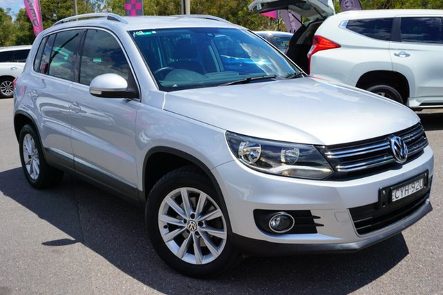 Used Volkswagen Tiguan 5N MY15 132TSI DSG 4MOTION, 2014 Volkswagen Tiguan 5N MY15 132TSI DSG 4MOTION Silver 7 Speed Sports Automatic Dual Clutch Wagon
