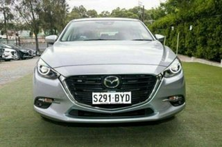 2018 Mazda 3 BN5438 SP25 SKYACTIV-Drive GT Sonic Silver 6 Speed Sports Automatic Hatchback.