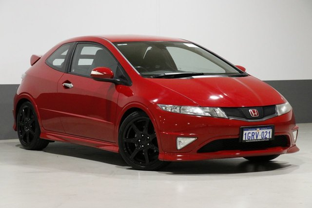 Used Honda Civic 30 MY09 Type R, 2010 Honda Civic 30 MY09 Type R Red 6 Speed Manual Hatchback