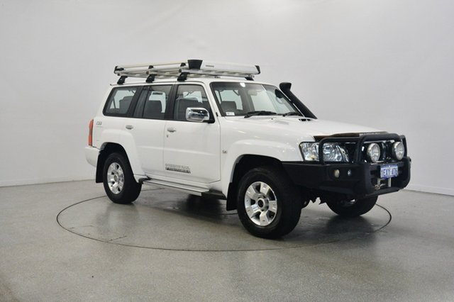 Used Nissan Patrol Y61 GU 9 ST Titanium, 2014 Nissan Patrol Y61 GU 9 ST Titanium White 4 Speed Automatic Wagon