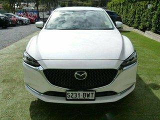 2018 Mazda 6 GL1032 Touring SKYACTIV-Drive White Pearl 6 Speed Sports Automatic Sedan.