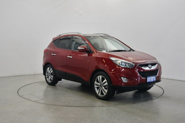 Used Hyundai ix35 LM3 MY15 Highlander AWD, 2015 Hyundai ix35 LM3 MY15 Highlander AWD Remington Red 6 Speed Sports Automatic Wagon
