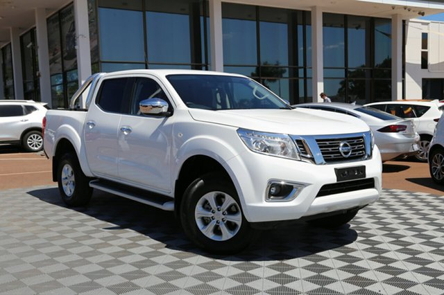 Used Nissan Navara D23 S3 ST, 2018 Nissan Navara D23 S3 ST White 7 Speed Sports Automatic Utility