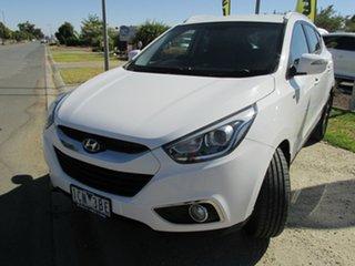 2013 Hyundai ix35 LM3 MY14 SE White 6 Speed Sports Automatic Wagon.