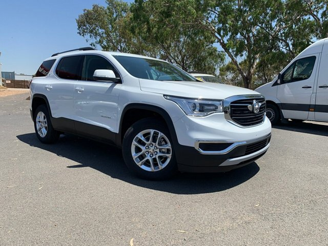 Demo Holden Acadia AC MY19 LT 2WD, 2019 Holden Acadia AC MY19 LT 2WD Summit White 9 Speed Sports Automatic Wagon
