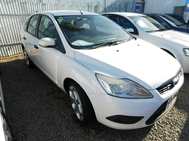 Used Ford Focus LV CL, 2009 Ford Focus LV CL White 4 Speed Sports Automatic Hatchback