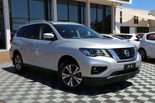 Used Nissan Pathfinder R52 Series II MY17 ST-L X-tronic 4WD, 2018 Nissan Pathfinder R52 Series II MY17 ST-L X-tronic 4WD Silver 1 Speed Constant Variable Wagon