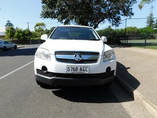 2010 Holden Captiva CG MY10 CX AWD White 5 Speed Sports Automatic Wagon.