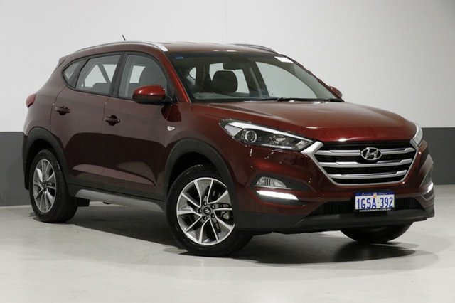 Used Hyundai Tucson TL Active X (FWD), 2017 Hyundai Tucson TL Active X (FWD) Ruby Wine 6 Speed Automatic Wagon