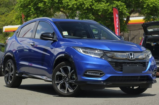 Demo Honda HR-V MY18 RS, 2018 Honda HR-V MY18 RS Brilliant Sporty Blue 1 Speed Constant Variable Hatchback