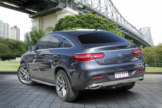 2015 Mercedes-Benz GLE350 C292 d Coupe 9G-Tronic 4MATIC Grey 9 Speed Sports Automatic Wagon.