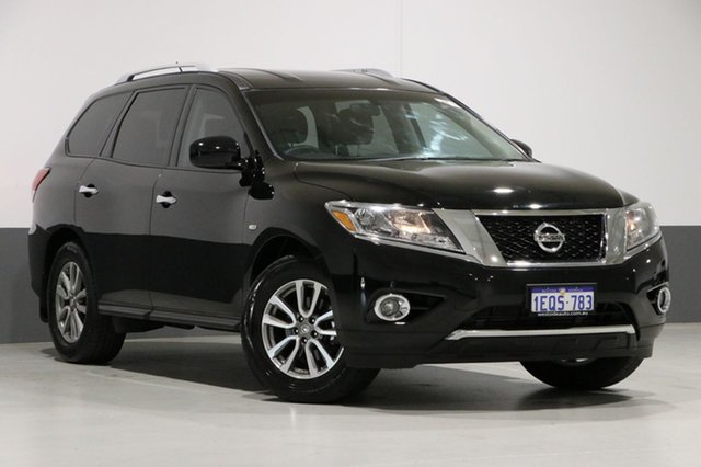 Used Nissan Pathfinder R52 ST (4x4), 2015 Nissan Pathfinder R52 ST (4x4) Black Continuous Variable Wagon