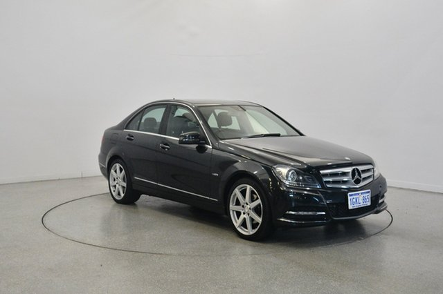 Used Mercedes-Benz C250 CDI W204 MY11 BlueEFFICIENCY 7G-Tronic Avantgarde, 2011 Mercedes-Benz C250 CDI W204 MY11 BlueEFFICIENCY 7G-Tronic Avantgarde Black 7 Speed