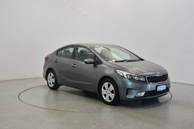 Used Kia Cerato YD MY17 S, 2017 Kia Cerato YD MY17 S Grey 6 Speed Sports Automatic Sedan