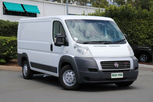 Used Fiat Ducato Series 4 Low Roof MWB Comfort-matic, 2014 Fiat Ducato Series 4 Low Roof MWB Comfort-matic White 6 Speed Sports Automatic Single Clutch