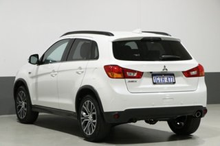 2017 Mitsubishi ASX XC MY17 LS (2WD) White Continuous Variable Wagon