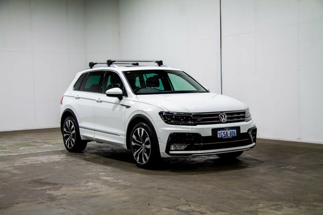 Used Volkswagen Tiguan 5N MY17 140TDI DSG 4MOTION Highline, 2017 Volkswagen Tiguan 5N MY17 140TDI DSG 4MOTION Highline Pure White 7 Speed