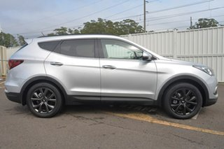 2017 Hyundai Santa Fe DM5 MY18 Active X 2WD Silver 6 Speed Sports Automatic Wagon.