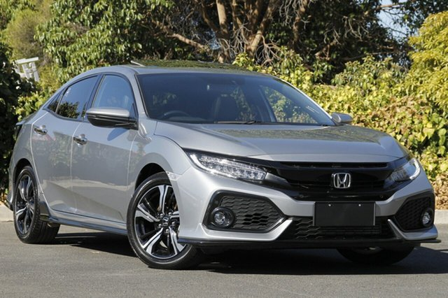 Used Honda Civic 10th Gen MY17 RS, 2017 Honda Civic 10th Gen MY17 RS Lunar Silver 1 Speed Constant Variable Hatchback