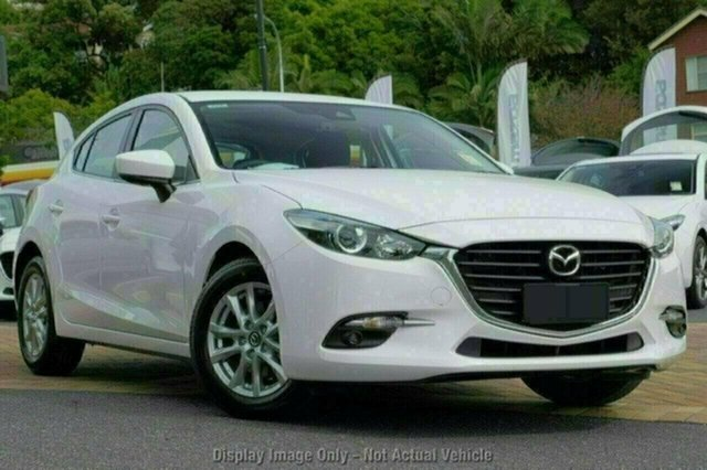 New Mazda 3 BN5478 Maxx SKYACTIV-Drive Sport, 2018 Mazda 3 BN5478 Maxx SKYACTIV-Drive Sport White Pearl 6 Speed Sports Automatic Hatchback
