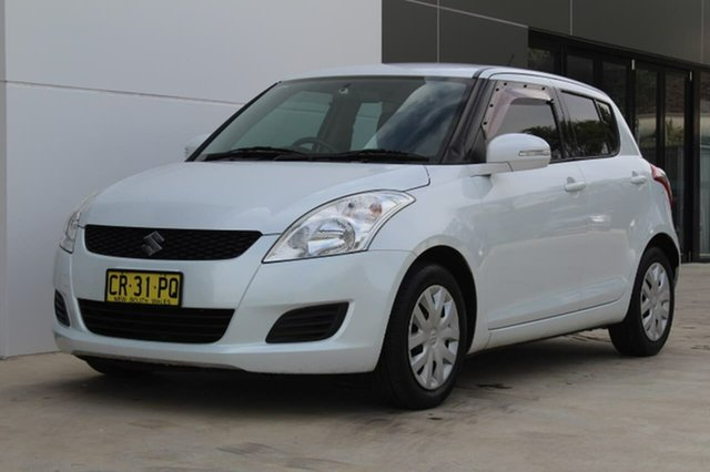 Used Suzuki Swift GL GL, 2011 Suzuki Swift GL GL White Manual Hatchback