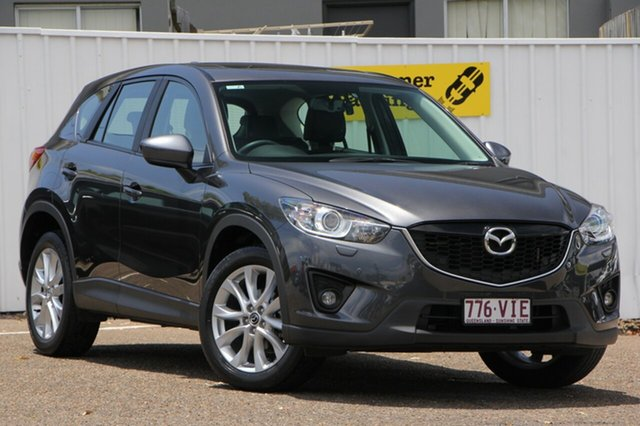 Used Mazda CX-5 KE1031 MY14 Grand Touring SKYACTIV-Drive AWD, 2014 Mazda CX-5 KE1031 MY14 Grand Touring SKYACTIV-Drive AWD Grey 6 Speed Sports Automatic Wagon