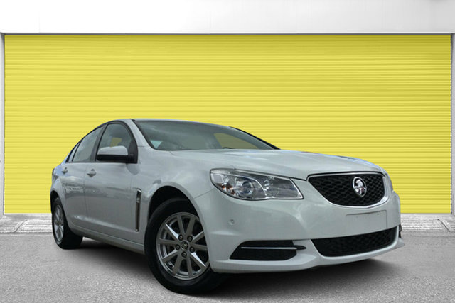 Used Holden Commodore VF II MY16 Evoke, 2015 Holden Commodore VF II MY16 Evoke White 6 Speed Sports Automatic Sedan