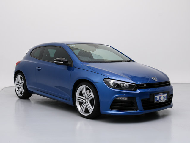 Used Volkswagen Scirocco 1S MY13.5 R, 2013 Volkswagen Scirocco 1S MY13.5 R Blue 6 Speed Direct Shift Coupe