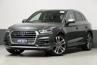 2017 Audi SQ5 FY MY17 3.0 TFSI Quattro Daytona Grey 8 Speed Automatic Tiptronic Wagon