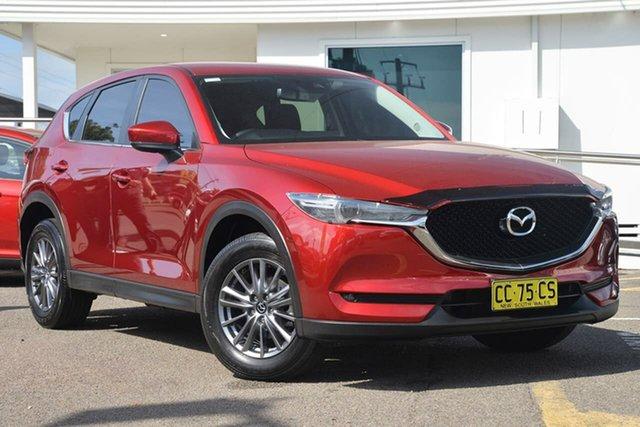 Used Mazda CX-5 KF4WLA Maxx SKYACTIV-Drive i-ACTIV AWD Sport, 2017 Mazda CX-5 KF4WLA Maxx SKYACTIV-Drive i-ACTIV AWD Sport Red 6 Speed Sports Automatic Wagon