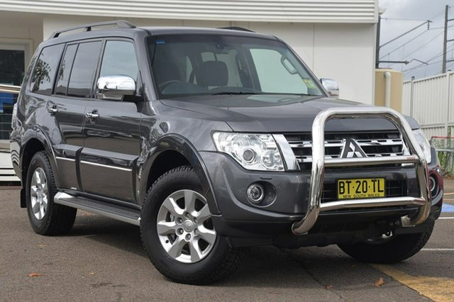 Used Mitsubishi Pajero NW MY12 Platinum, 2012 Mitsubishi Pajero NW MY12 Platinum Graphite Grey 5 Speed Sports Automatic Wagon