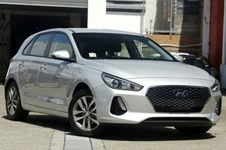 2018 Hyundai i30 PD2 MY19 Active Platinum Silver Metallic 6 Speed Sports Automatic Hatchback.