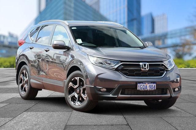 Demo Honda CR-V RW MY18 +Sport FWD, 2018 Honda CR-V RW MY18 +Sport FWD Modern Steel 1 Speed Constant Variable Wagon